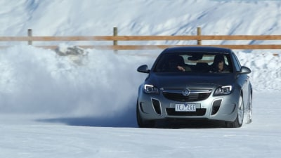 2015 Holden Insignia VXR Review: Hitting The Snow