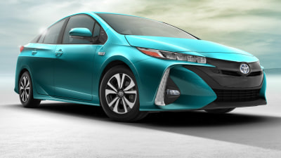 Toyota Prius Prime Plug-In Hybrid Unveiled At New York Auto Show