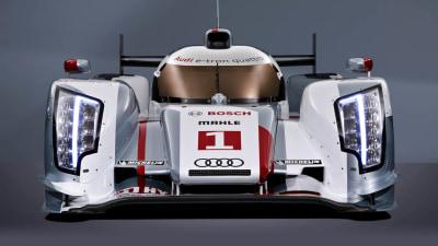 Audi Reveals KERS Hybrid R18 e-tron Quattro Le Mans Racer