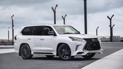 Lexus LX 570 S coming this month