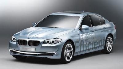 BMW Concept 5 Series ActiveHybrid Debuts At Geneva