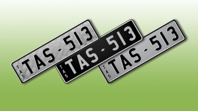 TasPlates Releases New Number Plate Colours And Designs