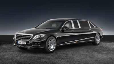 """""""Call Security"""" - Mercedes-Benz S 600 Pullman Guard Is 5.1-Tonnes of VIP Protection"""