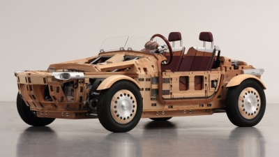 The future of cars lies in knocking wood?