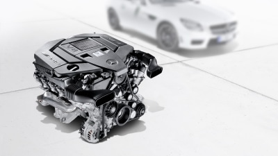 2012 Mercedes-Benz SLK AMG Getting 5.5 V8