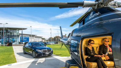 Mercedes-Benz Launches 'Heli-Express' For Melbourne Airport Trips