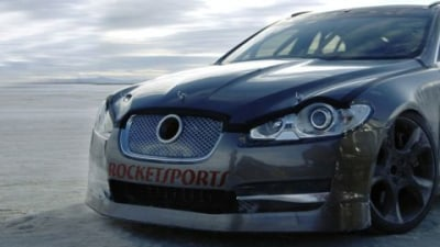Jaguar XFR Clocks 360km/h At Bonneville - Faster Than XJ220