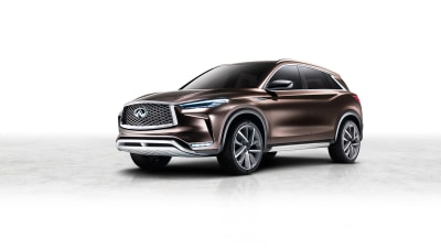 Infiniti QX50 Concept Revealed Ahead Of Detroit Debut