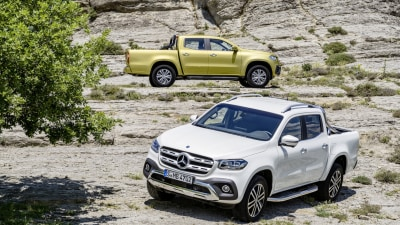 2018 Mercedes-Benz X-Class Ute Revealed