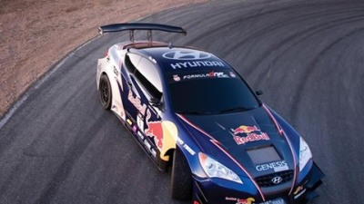 Hyundai And Red Bull Sponsored Genesis Coupe Drift Car To Be Piloted By Rhys Millen