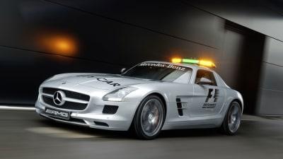 2010 Mercedes-Benz SLS AMG: The New Formula 1 Safety Car