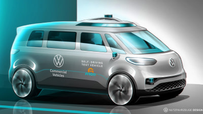 VW to start testing fleet of self-driving Argo AI-equipped ID Buzz vans within months