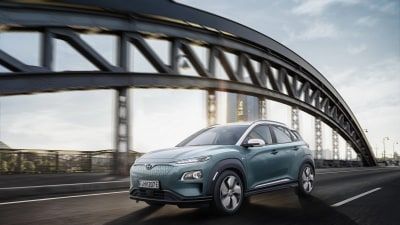 Electric Hyundai Kona SUV revealed