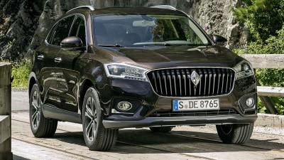Borgward BX7 SUV Marks Comeback Model For German Brand