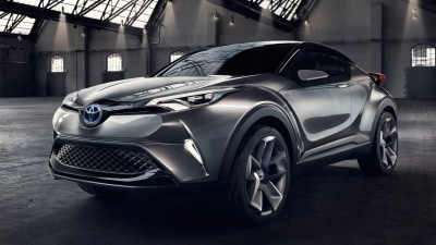 Toyota C-HR SUV Confirmed For Production Future - Frankfurt Motor Show