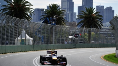 F1: Vettel Says Melbourne Overtaking Zone Confusing