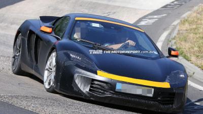 2015 McLaren P13 Spied Testing