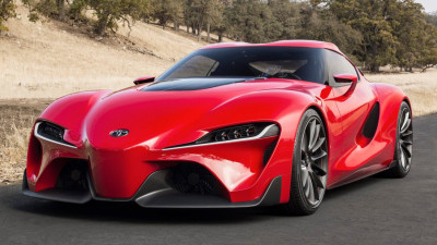 Toyota Trademarks S-FR Name For New Supra?