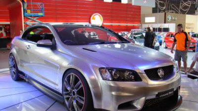 Holden Coupe 60 Concept in detail