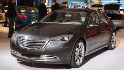 Chrysler To Present Its Electric Vehicle Future At 2009 Geneva Motor Show