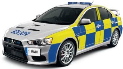 U.K. Police Ponder Evo X Interceptor