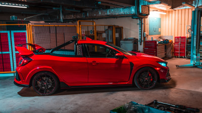 Honda builds one-off Civic Type R ute