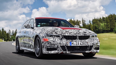 BMW teases upcoming 3-Series