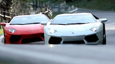 Lamborghini Aventador Revealed Further In New Clips
