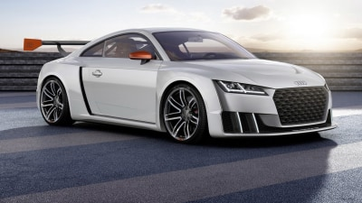 Audi TT Twin Turbo Clubsport Concept Unveiled For Worthersee