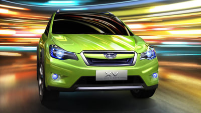 Subaru XV Concept Confirmed For 2011 AIMS