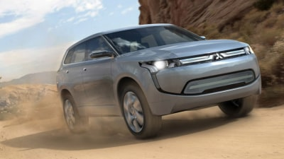 Mitsubishi Announces EV And Hybrid Onslaught