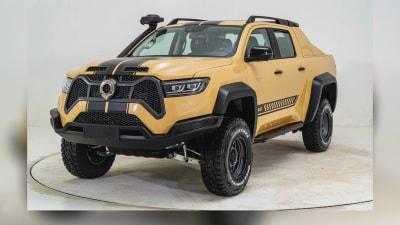 2021 GWM Baja Snake front exterior