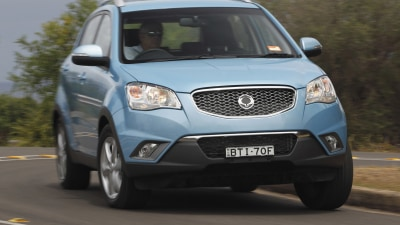 2011 SsangYong Korando Launched In Australia