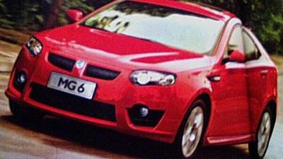 2009 MG 6 Hatchback Spotted