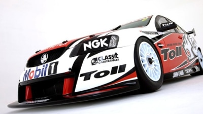 2010 Toll Holden Racing Team Livery Unveiled