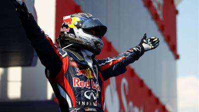 F1: Vettel Extends Title Lead, Pole Sitter Webber Fourth