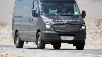Mercedes-Benz Sprinter Update Spied