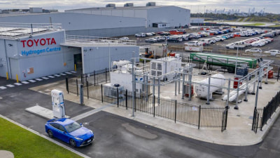 Toyota opens Victoria's first hydrogen production and storage facility