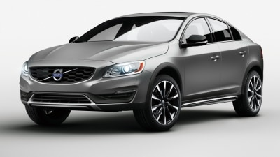 Jacked-up Volvo S60 Cross Country Revealed For Europe