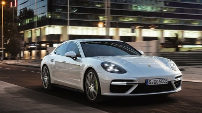 2017 Porsche Panamera Turbo S E-Hybrid Revealed Ahead Of Geneva Debut