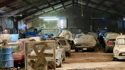 Large Mazda rotary 'barn find' collection surfaces in US