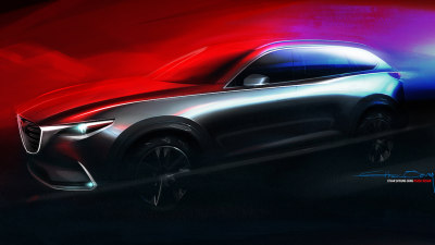 Mazda Offers First Teaser Of All-New CX-9, To Debut At LA Auto Show