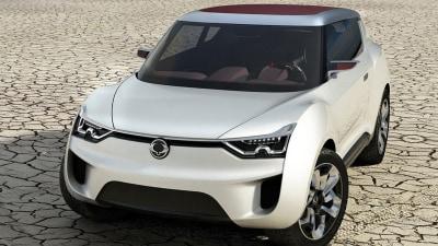 SsangYong XIV-2 Concept Unveiled At Geneva Motor Show