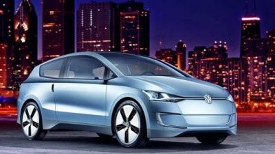 Volkswagen Reveals New Up! Diesel-Electric Hybrid Concept At LA Auto Show