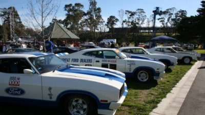 The Fourth Annual Shannons Classic Australian Car Show