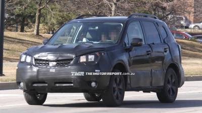 2014 Subaru Forester Spied