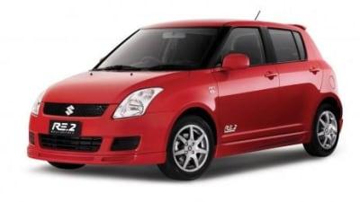 Suzuki announce Swift RE2 limited edition
