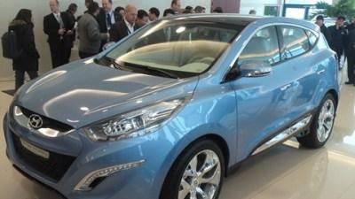 Hyundai ix-onic Concept Media Unveilling In Geneva