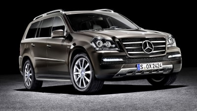 Mercedes-Benz GL-Class Grand Edition Revealed