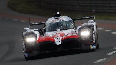Toyota takes pole at Le Mans